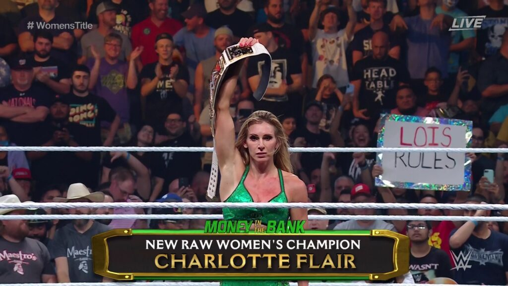Statistics: Charlotte Flair Creates WWE Record Over Money In The Bank Cash-In 50