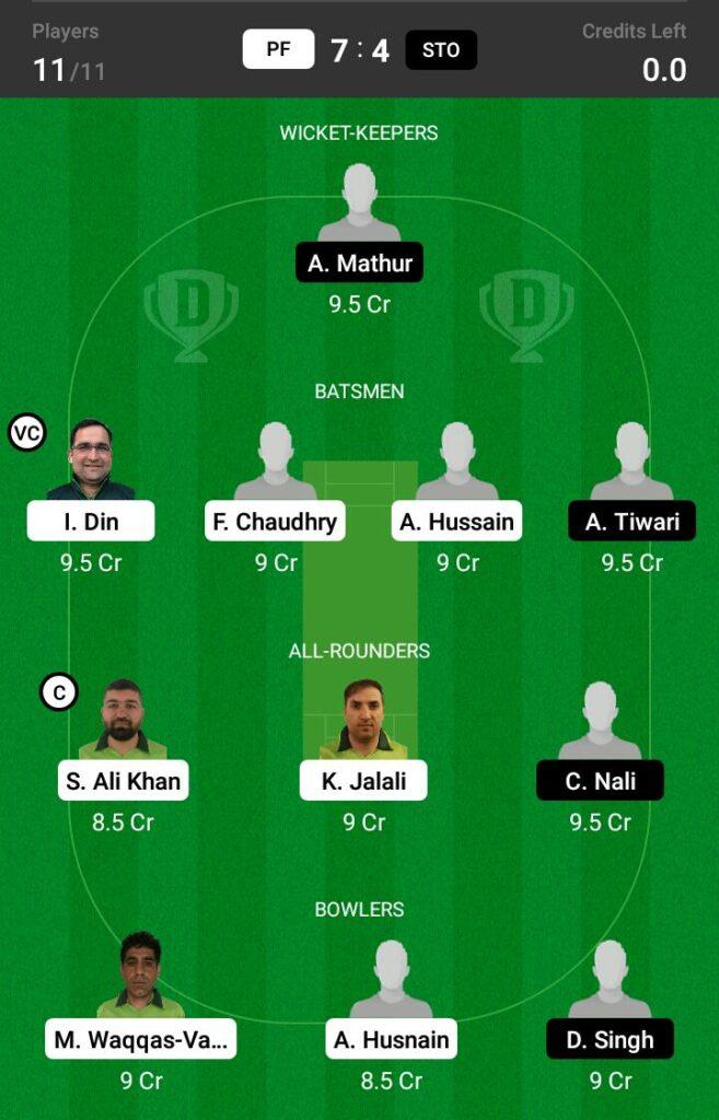 Pakistanska Forening vs Stockholm Dream11 Prediction, Fantasy Cricket Tips, Dream 11 Team, ECS T10 Sweden
