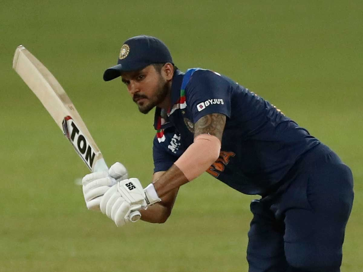 Manish Pandey is likely to be given another opportunity in the second ODI against Sri Lanka | Photo Credit: AP