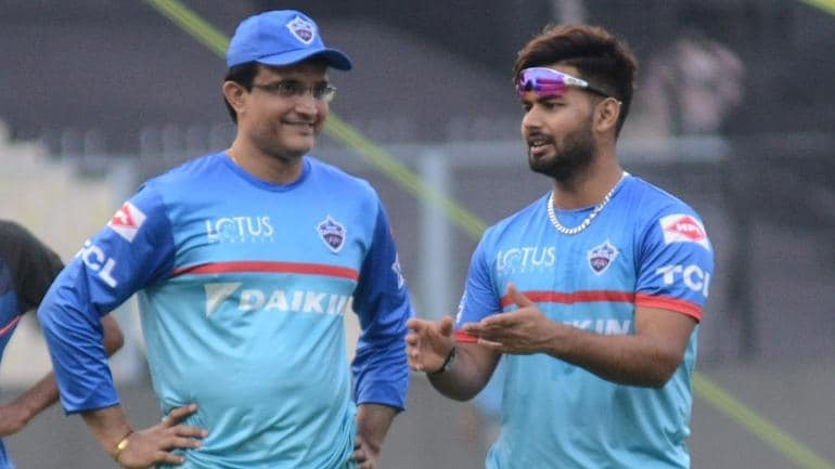 Sourav Ganguly and Rishabh Pant were together for the Delhi Capitals in IPL 2019 (IANS Photo)