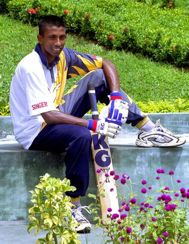 File picture of Russel Arnold. - THE HINDU