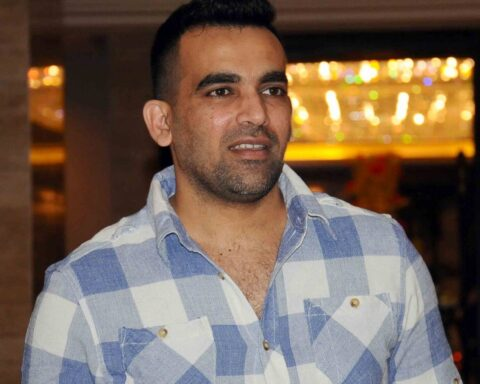Zaheer Khan. Image-Sportstar