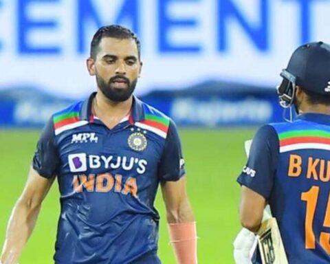 Deepak Chahar and Bhuvneshwar Kumar's 8th wicket partnership saw India home in the 2nd ODI vs Sri Lanka (BCCI)