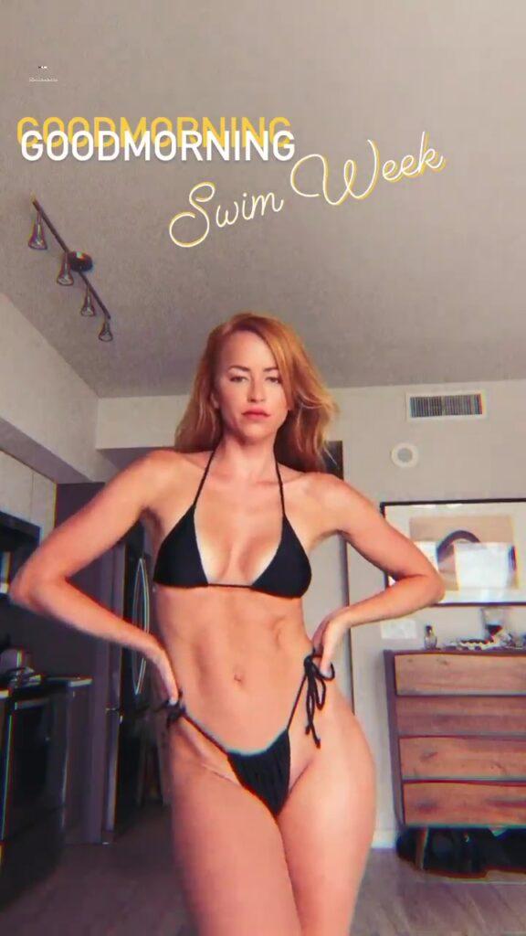 Ex WWE Diva Summer Rae Gears Up For Swim Week 2021 In Bikini 145