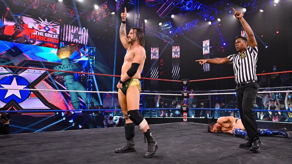WWE NXT Great American Bash 2021
