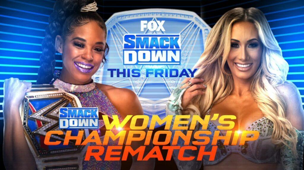 WWE Smackdown Preview (23/07/21): Title Match; John Cena Returns; Toni Storm Debuts 2