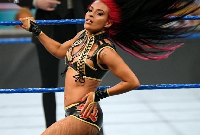 """Zelina Vega Blast WWE's The Boss Saying, """"Who is Sasha Banks?"""" 155"""