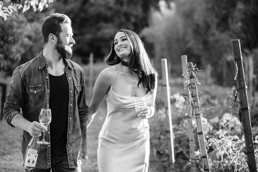 Nikki Bella Poses As White Wine Lover In Stunning Photos Ahead Of WWE Collaboration 43