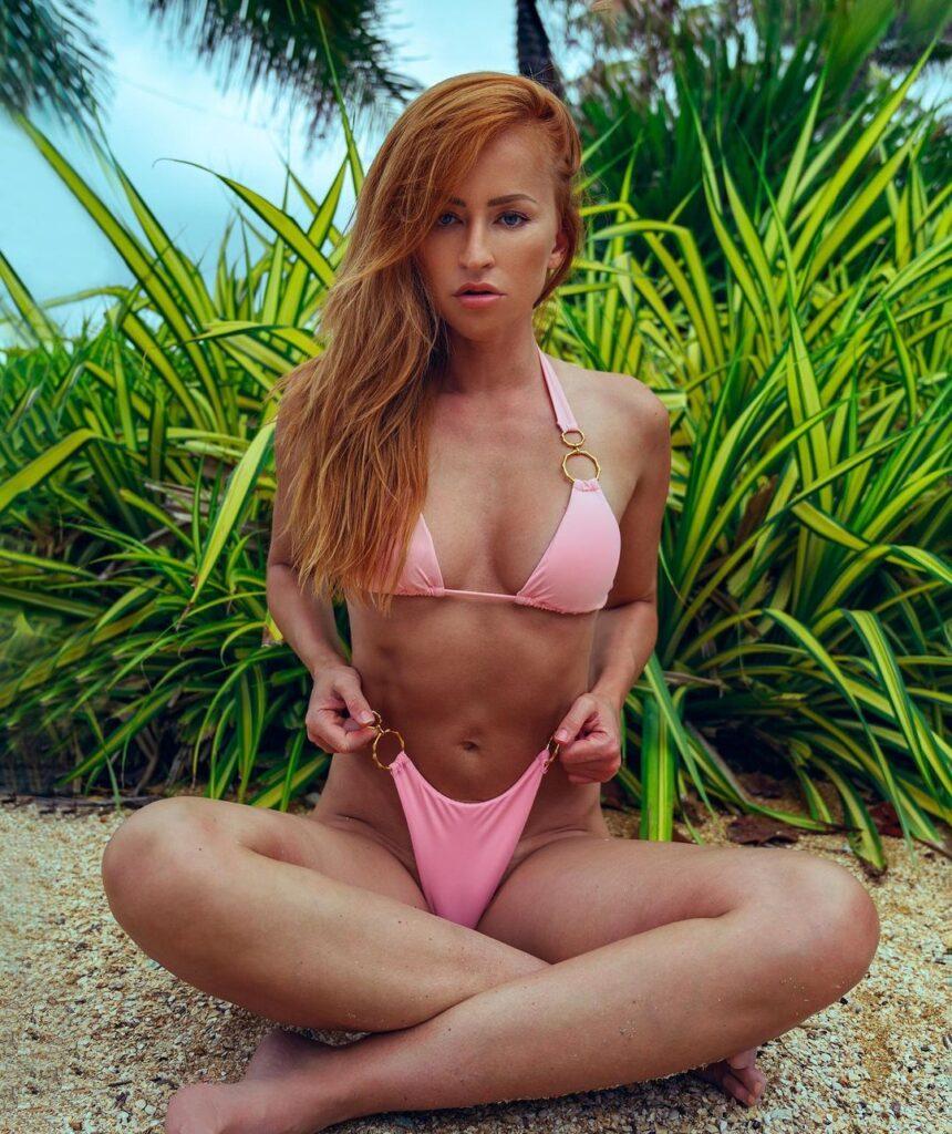 Ex WWE Star Summer Rae Says Hi To Fans In Stunning Pink Bikini 108