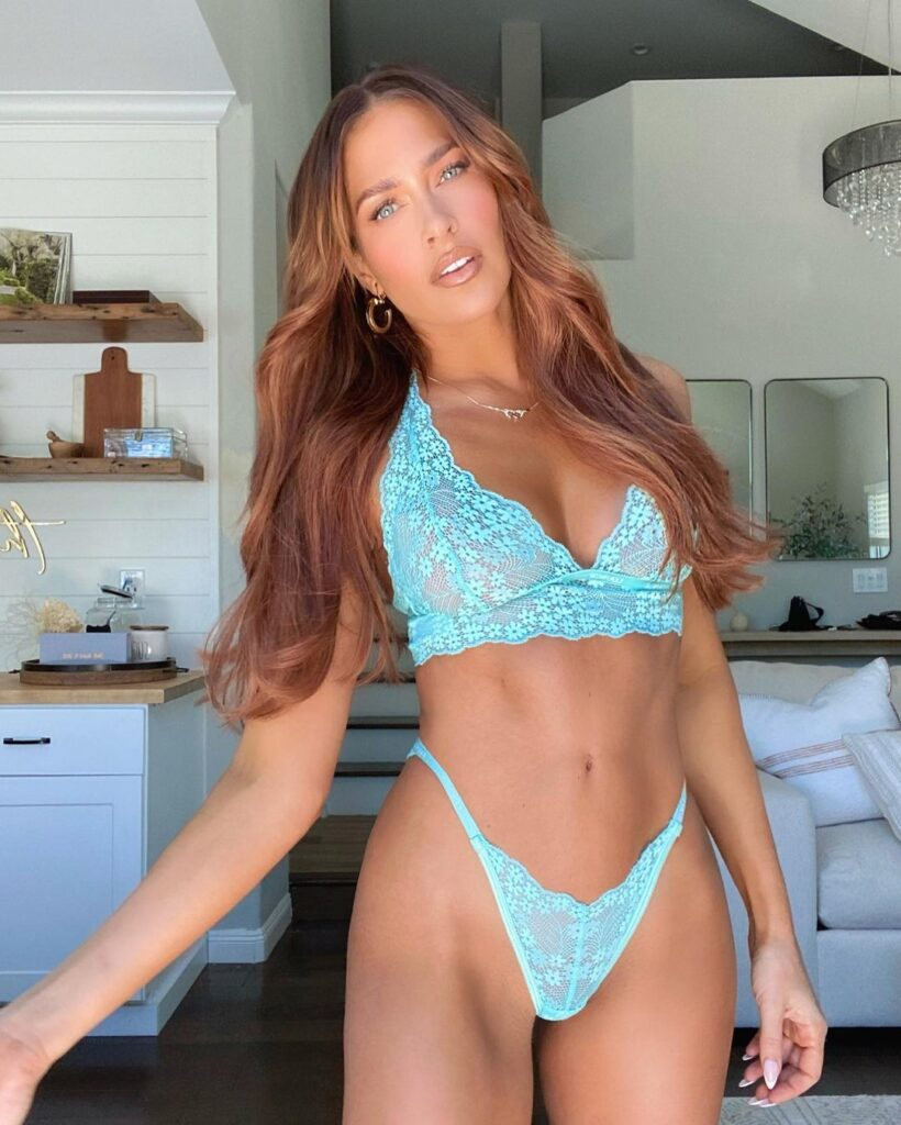 Ex WWE Star Kelly Kelly Does Q&A Insta Session With Lingerie Photos 145