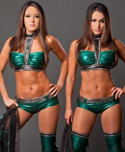 Chelsea Green Pays Homage To WWE Legends The Bella Twins 104