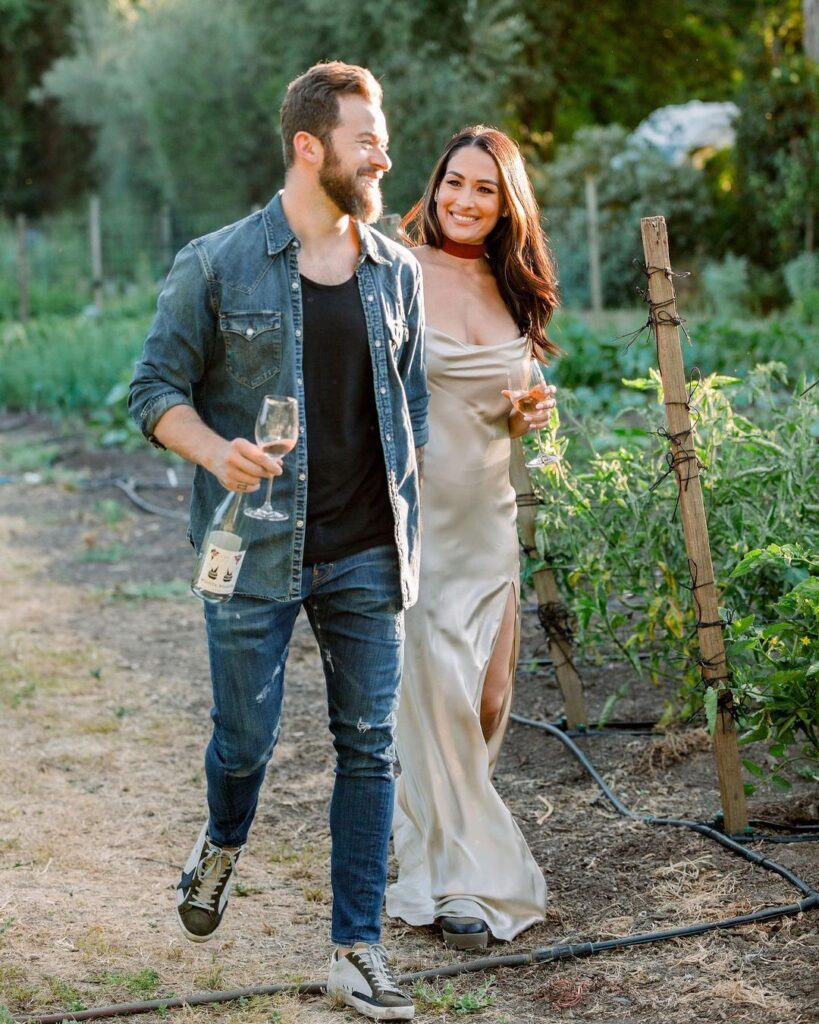 Nikki Bella Poses As White Wine Lover In Stunning Photos Ahead Of WWE Collaboration 42