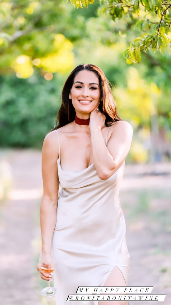 Nikki Bella Poses As White Wine Lover In Stunning Photos Ahead Of WWE Collaboration 41