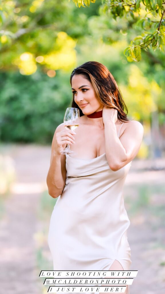 Nikki Bella Poses As White Wine Lover In Stunning Photos Ahead Of WWE Collaboration 40