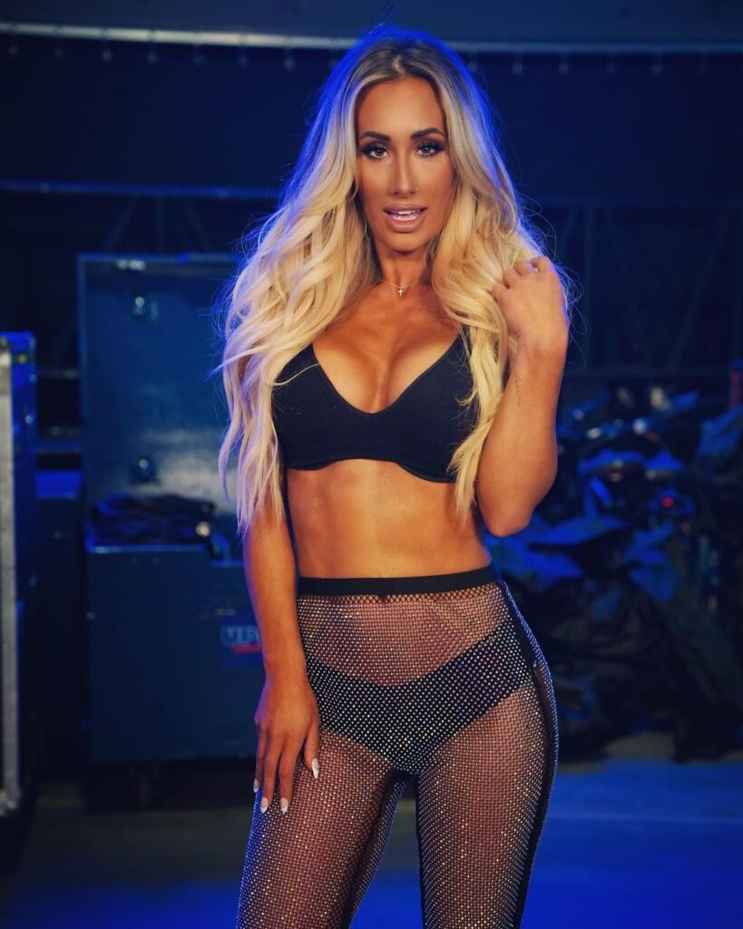 Carmella Serves WWE Universe With Stunning Pictures Following Smackdown 127