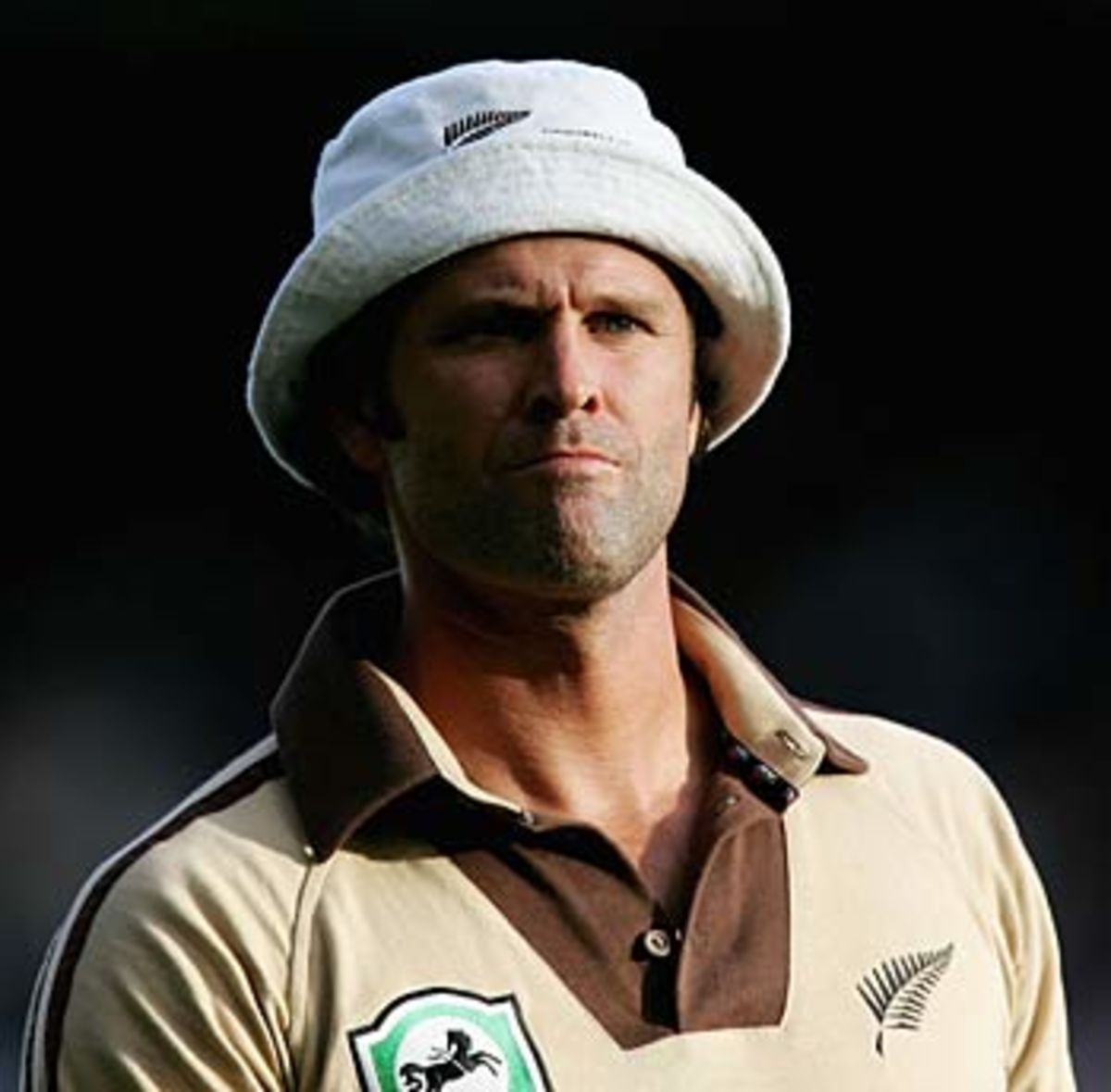 Chris Cairns during his farewell international appearance, New Zealand v West Indies, Twenty20, Auckland, February 16, 2006, @AFP