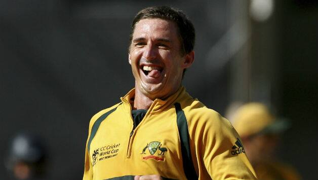 Brad Hogg was a part of two World Cup-winning Australian teams; 2003 and 2007 © Getty Images