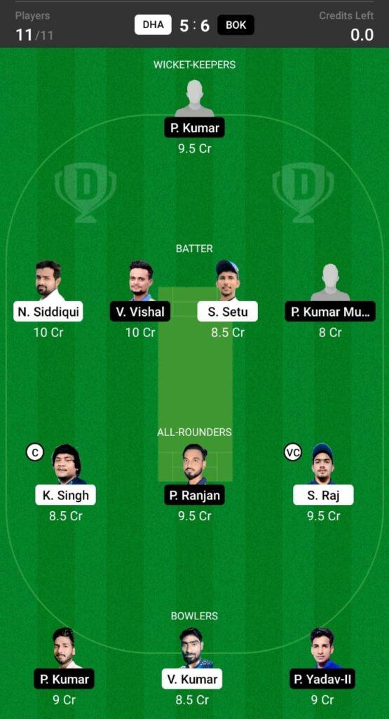 DHA vs BOK Dream11 Prediction, Fantasy Cricket Tips, Dream XI Team, BYJU'S Jharkhand T20 2021