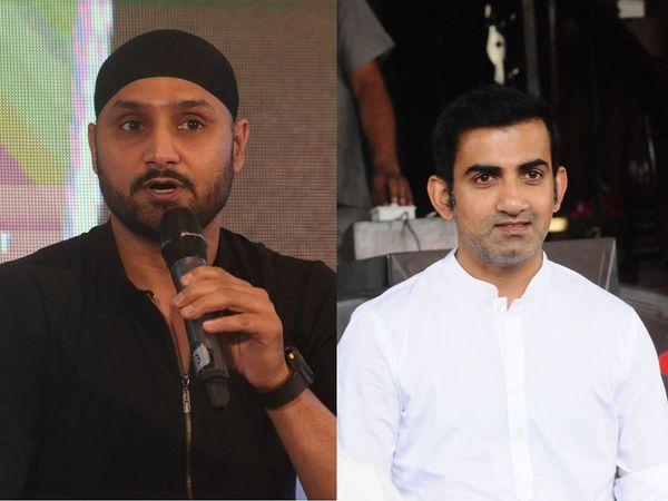 Gautam Gambhir reacted after Harbhajan Singh called Neeraj Chopra's gold triumph bigger than India's 2011 World Cup win.   Photo Credit: IANS