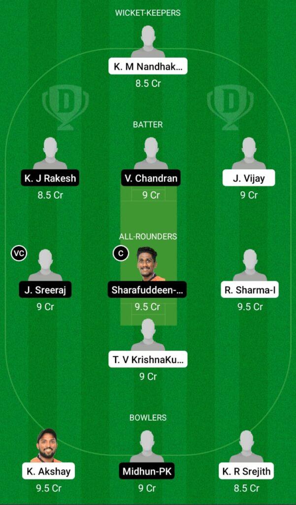 KDC vs PRC Dream11 Prediction, Fantasy Cricket Tips, Dream11 Team, Kerala Club Championship 2021