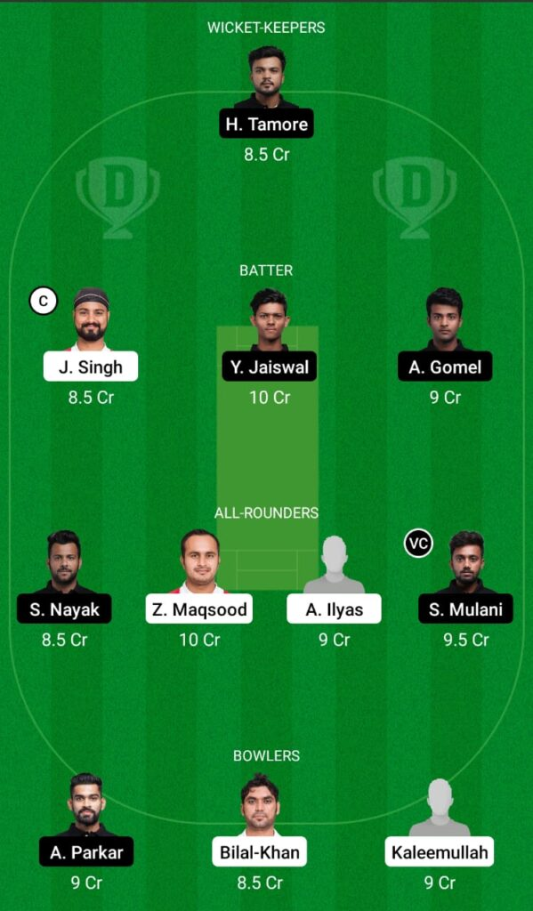 OMN vs MUM Dream11 Prediction, Fantasy Cricket Tips, Dream11 Team, Mumbai Tour of Oman 2021