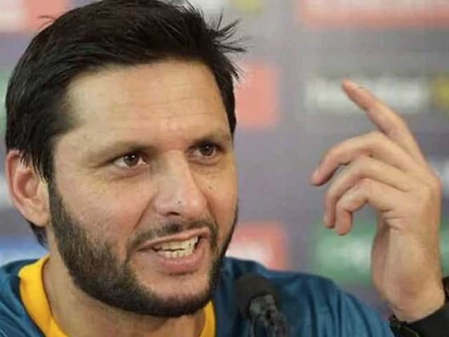 Shahid Afridi played in 27 Tests, 398 ODIs and 99 T20Is for Pakistan.© AFP