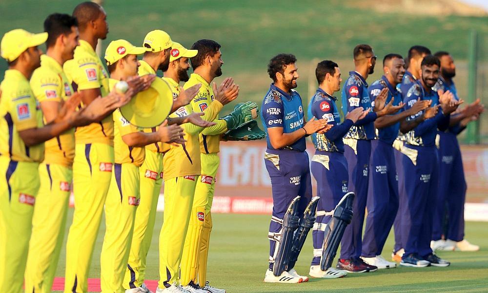 Chennai Super Kings vs Mumbai Indians ©BCCI/IPL