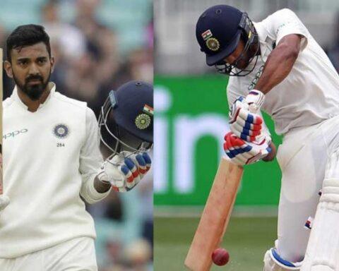 K L Rahul and Mayank Agarwal. (AFP File Photos)
