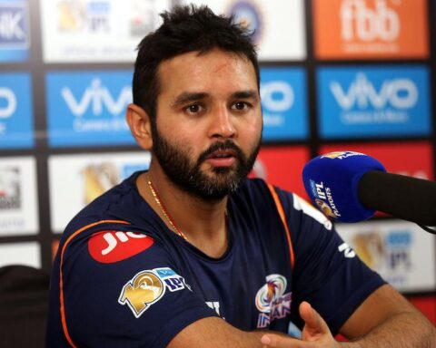 File photo of Parthiv Patel with Mumbai Indians | Sandeep Shetty – Sportzpics – IPL