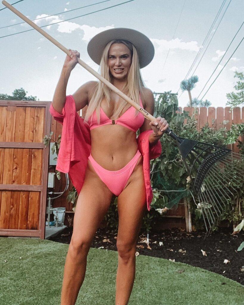 Photos: Ex WWE Star Lana's Domestic Time Turns Into Bikini Shoot 69
