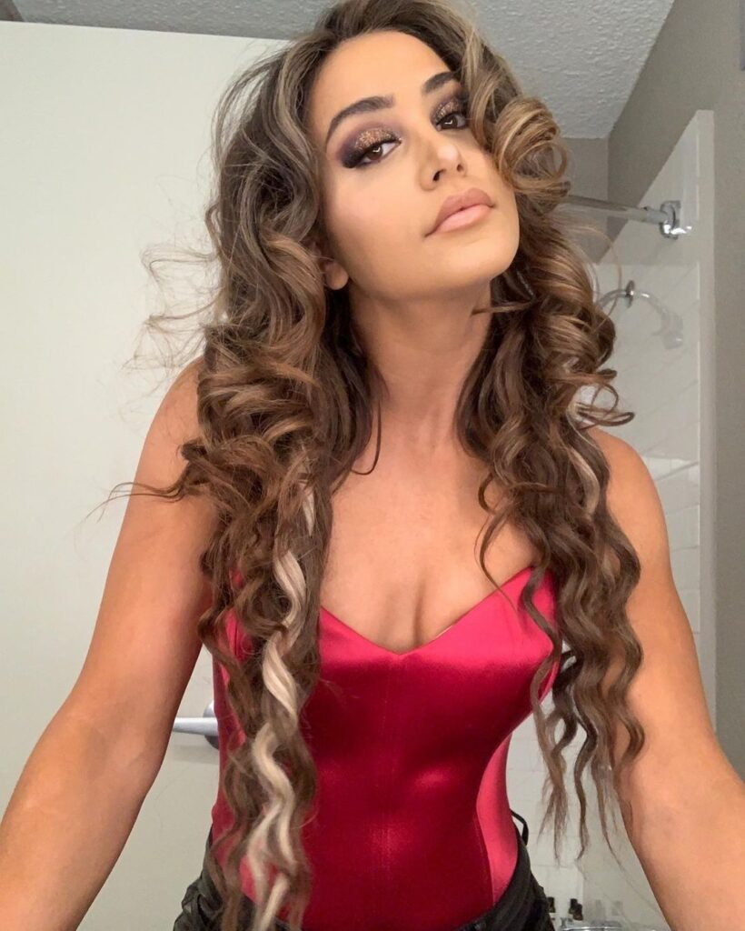 Photos: WWE Star Aliyah Claims To Be In Charge Of Her Hot Outfits 4