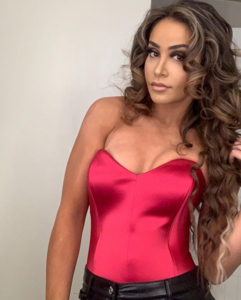 Photos: WWE Star Aliyah Claims To Be In Charge Of Her Hot Outfits 1