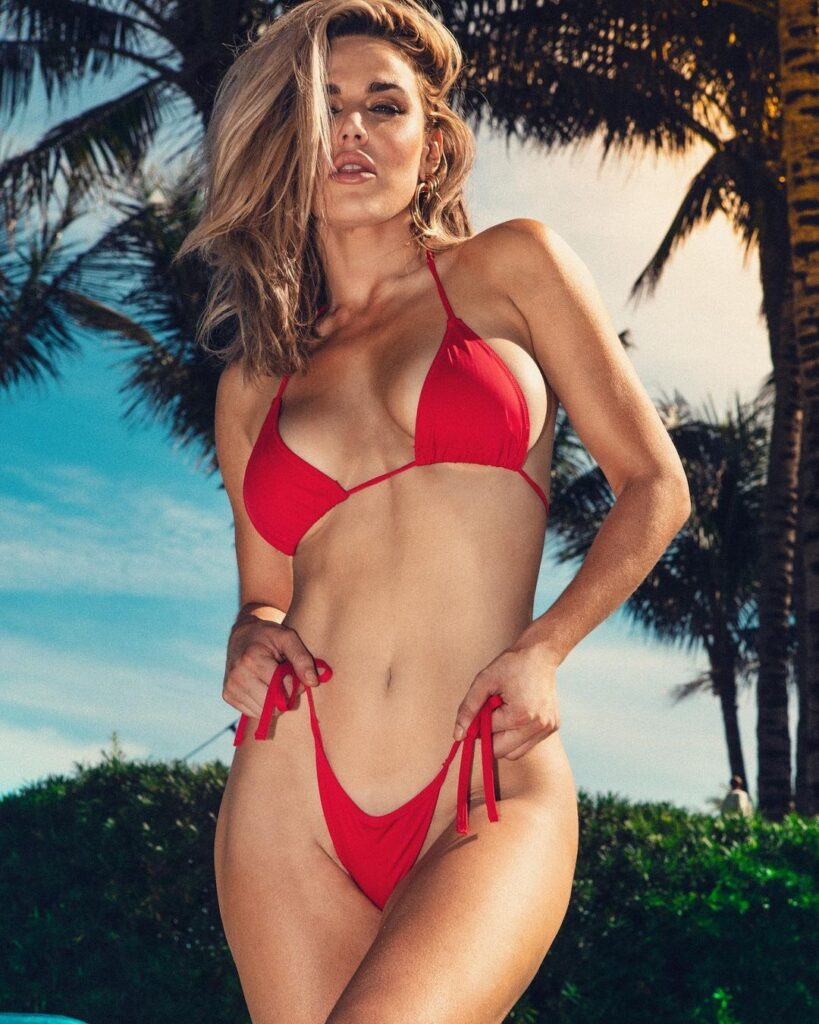 Lana Announces First Post-WWE Appearance In Red Hot Bikini Photos 50