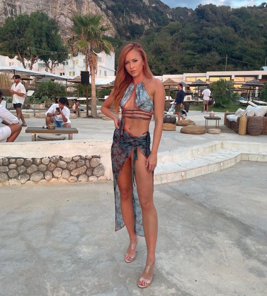 Ex WWE Diva Summer Rae Shares Maya Beach Experience Bikini Photos 41