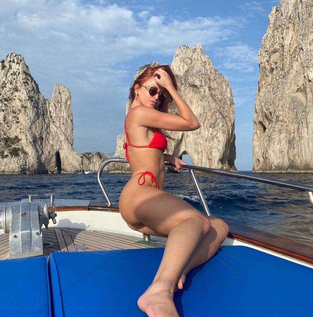Ex WWE Diva Summer Rae Shares Maya Beach Experience Bikini Photos 37