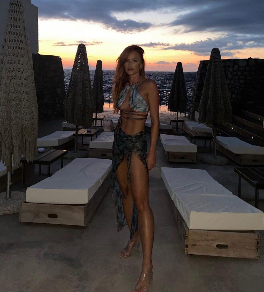 Ex WWE Diva Summer Rae Shares Maya Beach Experience Bikini Photos 40
