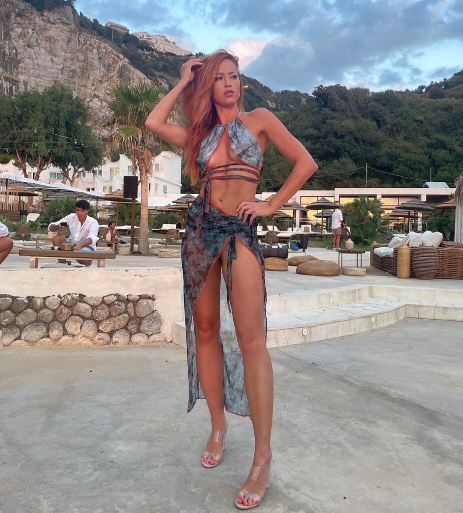 Ex WWE Diva Summer Rae Shares Maya Beach Experience Bikini Photos 39