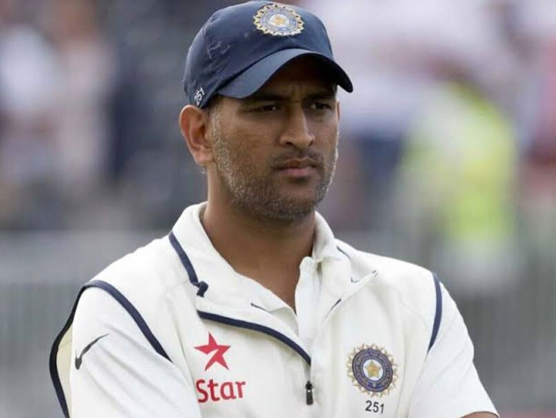 MS Dhoni retired from Test cricket in 2014.© AFP