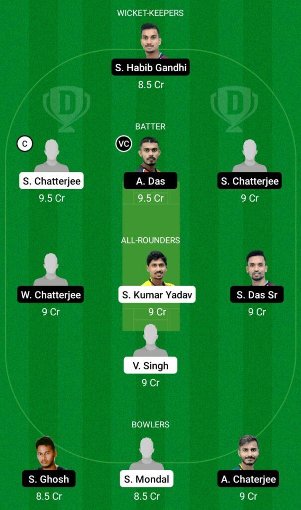 BB vs DD Dream11 Prediction, Fantasy Cricket Tips, Dream11 Team, BYJU'S Bengal T20 2021