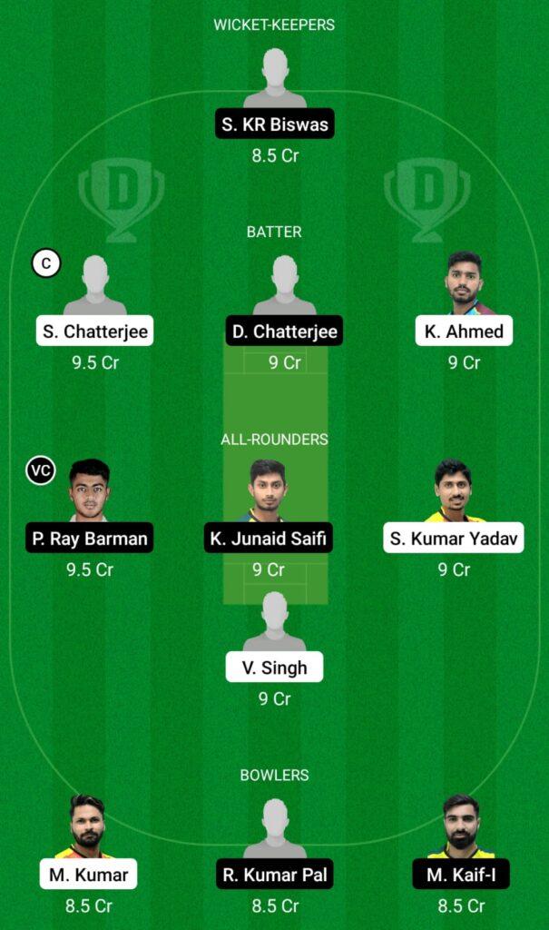 BB vs KB Dream11 Prediction, Fantasy Cricket Tips, Dream11 Team, BYJU'S Bengal T20 2021