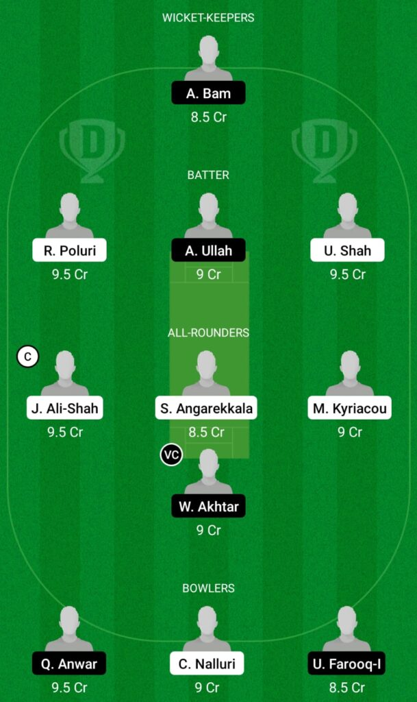 CES vs BCP Dream11 Prediction, Fantasy Cricket Tips, Dream11 Team, ECS T10 Cyprus 2021