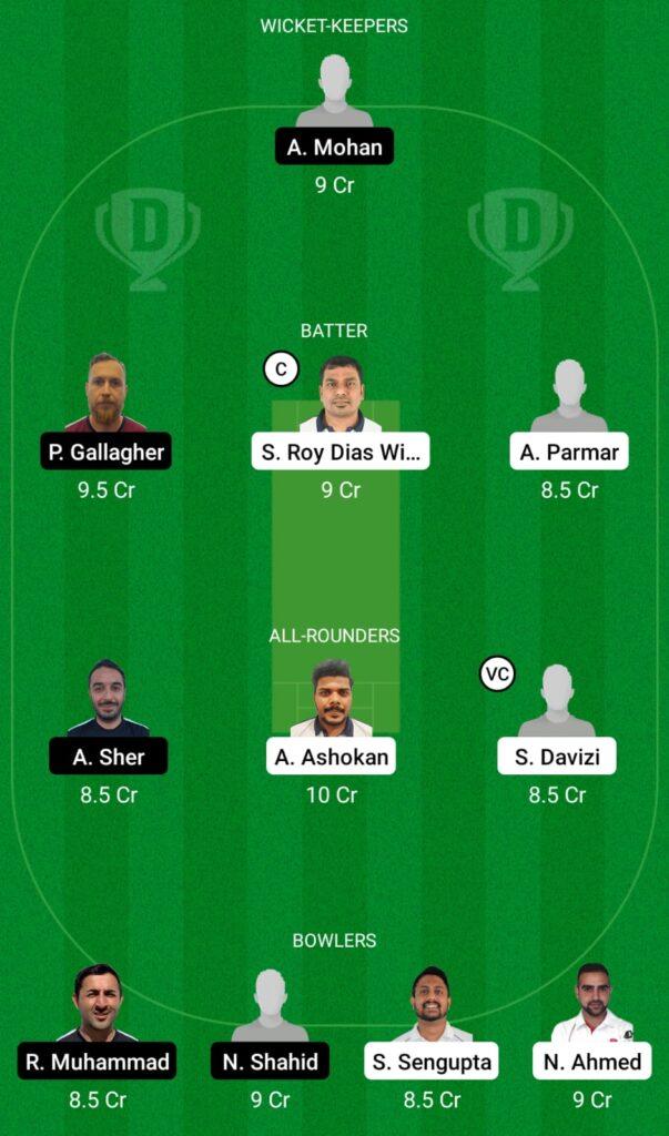 CZR vs FIN Dream11 Prediction, Fantasy Cricket Tips, Dream11 Team, ECC T10 2021