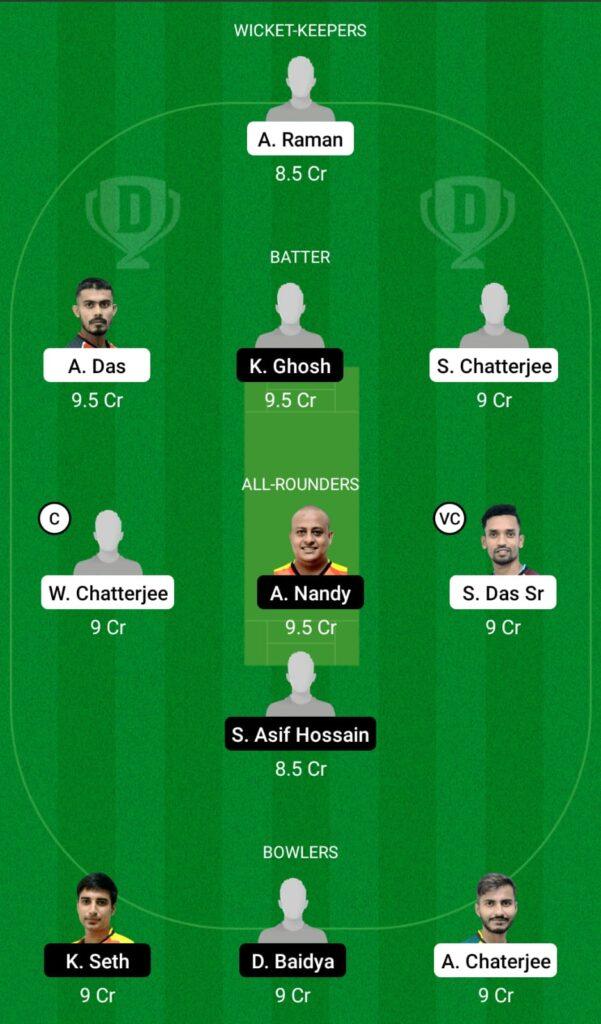 DD vs KC Dream11 Prediction, Fantasy Cricket Tips, Dream11 Team, BYJU'S Bengal T20 2021