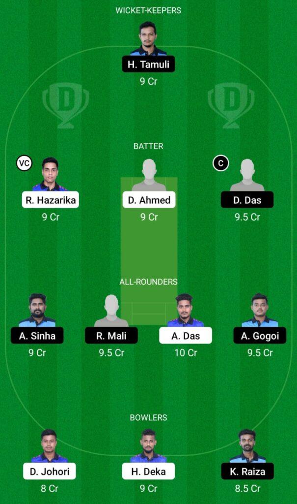 DPR vs KAH Dream11 Prediction, Fantasy Cricket Tips, Dream11 Team, BYJU'S Assam T20 2021