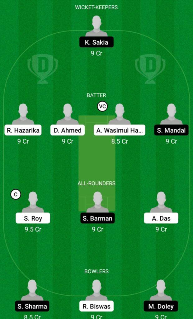 DPR vs SBC Dream11 Prediction, Fantasy Cricket Tips, Dream11 Team, BYJU'S Assam T20 2021