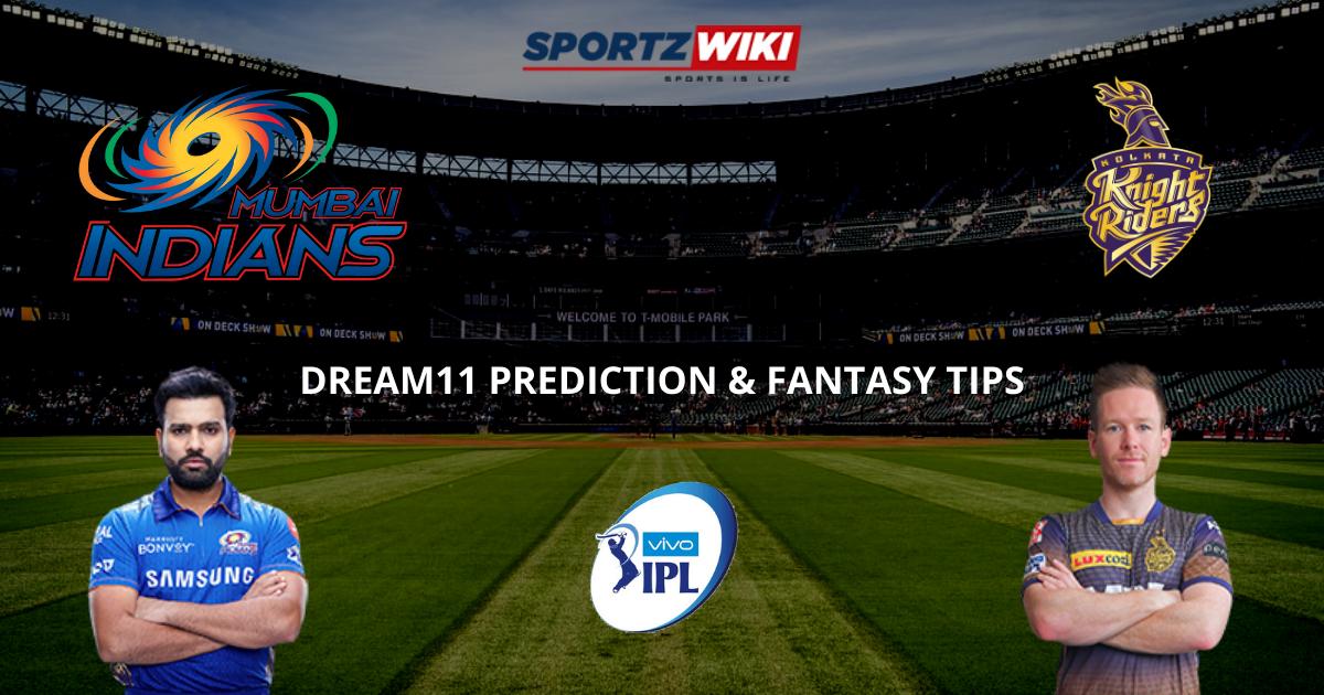 MI vs KKR Dream11 Prediction, Fantasy Cricket Tips, Dream11 Team- IPL 2021