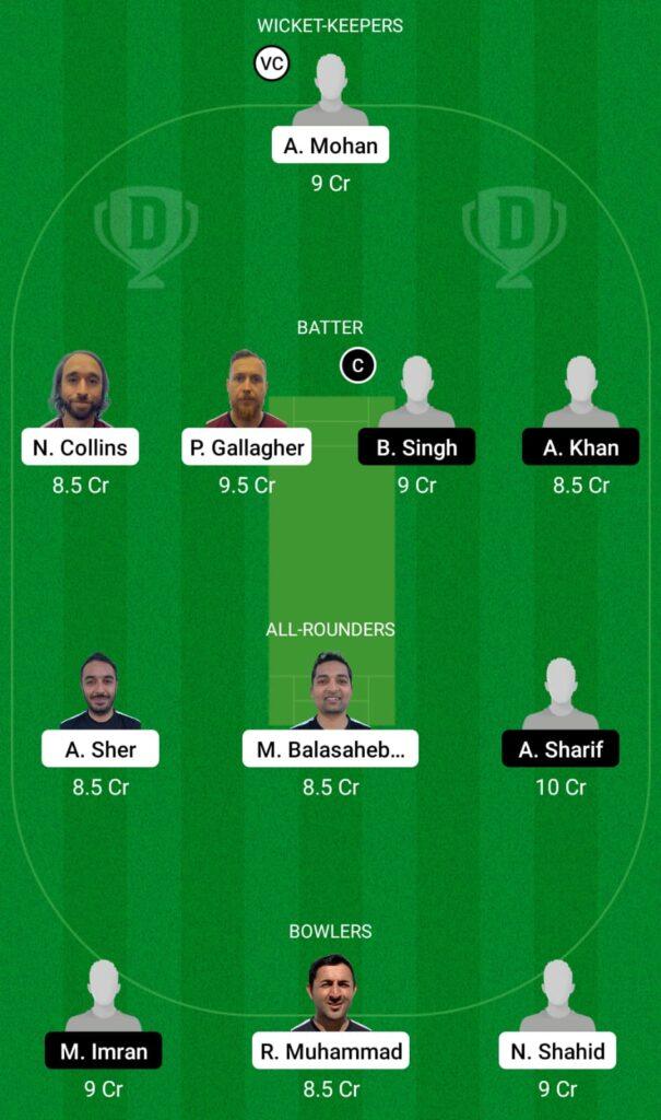 FIN vs ITA Dream11 Prediction, Fantasy Cricket Tips, Dream11 Team, ECC T10 2021