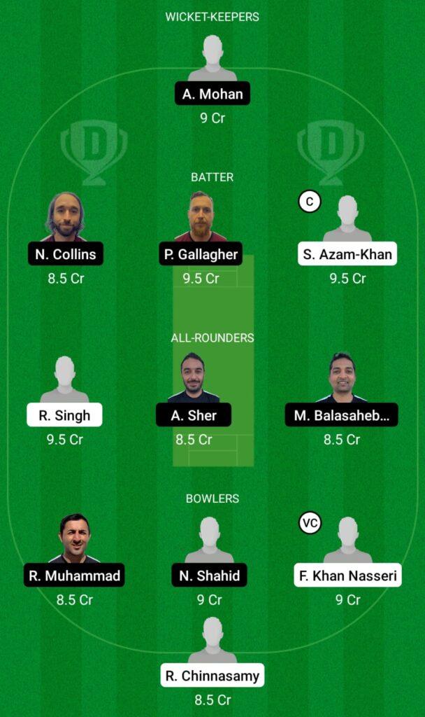 GER vs FIN Dream11 Prediction, Fantasy Cricket Tips, Dream11 Team, ECC T10 2021
