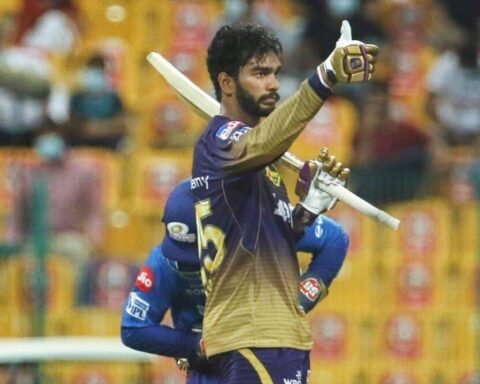 Venkatesh Iyer scored his maiden IPL fifty in the game vs MI.© Instagram