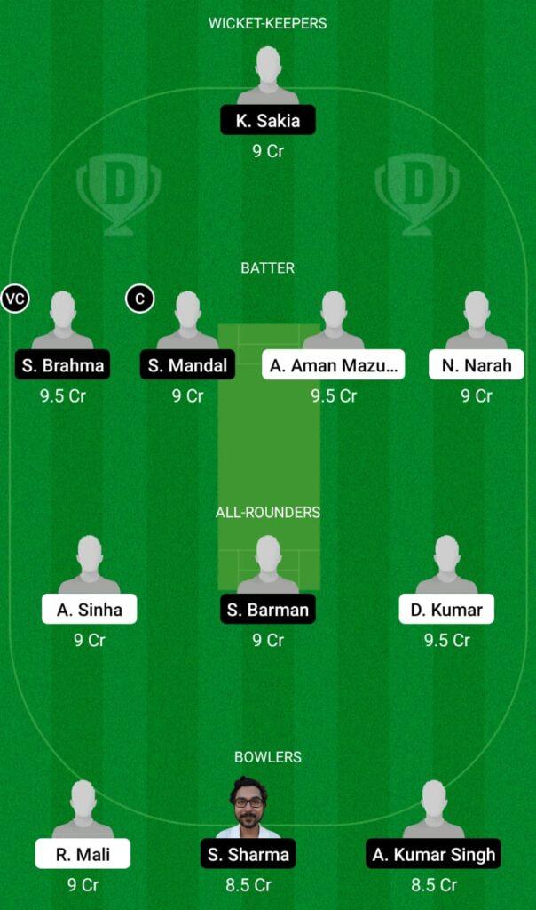 KAH vs SBC Dream11 Prediction, Fantasy Cricket Tips, Dream11 Team, BYJU'S Assam T20 2021